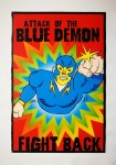 Poster - Attack Of The Blue Demon