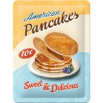 Tin-Plate Sign 15x20 cm - American Pancakes