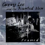 LP - Gerry Lee And The Wanted Men - framed