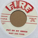 Single - Mary Ann Fisher - Put On My Shoes / Wild As You Can Be