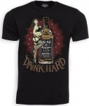 T-Shirt - King Kerosin - Drink Hard