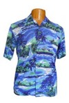 Hawaii-Shirt für Kinder - Tropical Blue
