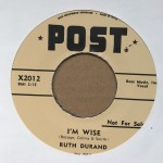 Single - Ruth Durand - I?m Wise / Tin Can Alley