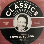 CD - Lowell Fulson - 1947 - 1948 The chronological classics