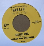 Single - Sugar Boy Williams - Five Long Years / Little Girl