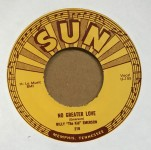 Single - Billy Emerson - Red Hot / No Greater Love