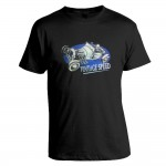 T-Shirt - Vintage Speed, blau