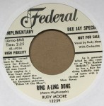 Single - Rudy Moore - Buggy Ride / Ring A - Ling Dong
