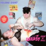 LP - VA - Greasy Rock and Roll Vol. 8