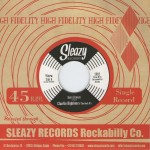 Single - Charlie Hightone & The Rock It's - Baby Behave / Hangover Blues