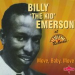CD - Billy Emerson - Move, Baby, Move