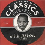 CD - Willis Jackson - 1950 - 1954 The chronological classics