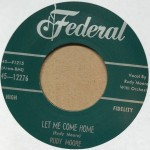 Single - Rudy Moore - Step It Up And Go / Let Me Come Home
