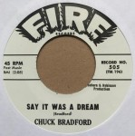 Single - Chuck Bradford - You're Going To Miss Me , Say It Was A Dream