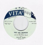 Single - Willie King - Peg Leg Woman / Mistreating Me