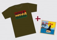 Bundle CD&T-shirt - Dr. Ring Ding - The Remedy & Shirt More Reggae