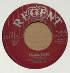 Single - Tommy Brown - Atlanta Boogie / House Near The Railroad Track