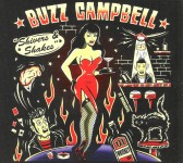 CD - Buzz Campell - Shivers & Shakers