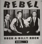 LP - VA - Rebel Rockabilly Vol. 1