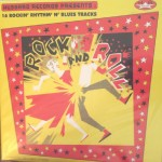 LP - VA - Rock'n'Roll 16 Hot R'n'Blues