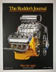 Poster - The Rodder's Journal - yellow block