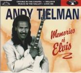 CD - Andy Tielman - Memories Of Elvis