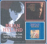 CD - Brian Hyland - Country Meets Folk/Here's To Our Love