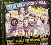 CD - Vince Eager - 788 Years Of Rock'n'Roll