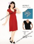Steady-Kleid - Sparrow Lush Dress Rot