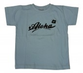 Kinder Shirt - Aloha, Blue