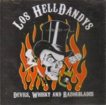 CD - Los Hell Dandys - Devils, Whisky and Razorblades