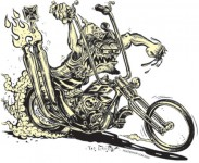 Sticker - Von Franco - Murdercycle