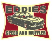 Sticker - Eddies - Speed and Muffler