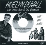 Single - Huelyn Duvall With Mike Bell & The Belltones - Baby Make A Move (EP)
