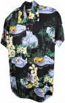 Hawaii - Shirt - Polynesia Black