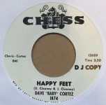 Single - Dave 'Baby' Cortez - Gettin' To The Point / Happy Feet