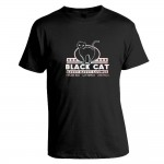 T-Shirt - Black Cat Kitty Kitty Lounge