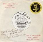 Single - Wild Bob Burgos & His Rockin'Band - Auld Lang Syne, Ding Dong Merrily On High