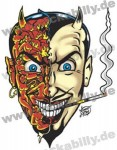 Sticker - Vince Ray - Sexy Devil - Small