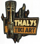 Sticker - Thalys Tiki Art