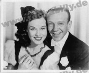 Autogramm-Foto - Fred Astaire & Paulette Goddard