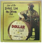 10inch - orange vinyl - Dollar Bill And His One Man Band - Live