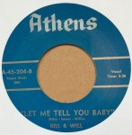 Single - Bill & Will - Goin? To The River / Let Me Tell You Baby