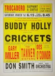 Poster - Buddy Holly, 1958, Trocadero