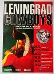 Poster - Leningrad Cowboys 1993 Tourposter