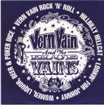 Single - Vern Vain & The Blue Veins - Vern Vain Rock'N'Roll, Hillibilly Hellcat
