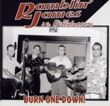 10inch - Ramblin James and Billy Boppers - Burn One Down!