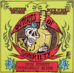 CD - VA - Outcasts Of Sobriety - Punkabilly Blend
