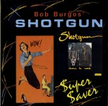 LP - Wild Bob Burgos & Shotgun - Super Saver - Born To Rock!