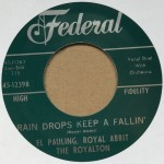 Single - El Pauling - Please, Please, Be Mine; Rain Drops Keep A  Fallin?